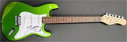 Zooey Deschanel Signed Autographed Electric Guitar She And Him New Girl Bas Y77366