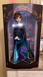 Disney 17 Limited Edition Frozen 2 Queen Anna And Elsa Snow Queen Dolls New Seal