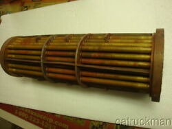 Nos Twin Disc Transmission Heat Exchangers For Nigata Xmissions Mg6557a