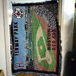 Boston Red Sox - Fenway Park Throw Rug - Tapesty Northwest Co 48''x60''