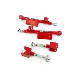 Umi 101517-r 79-98 Mustang Adjustable Rear Control Arms Red
