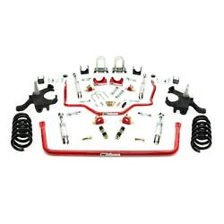Umi 64025-r 73-87 C10 Stage 2.5 Kit 4.5/6 Inch Lowering Red