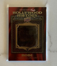 2009 Ud Prominent Cuts Hollywood History Bruce Lee Worn Robe