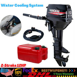 Outboard Motor Boat Outboard Engine Water Cooling System Cdi 2-stroke 169cc 12hp
