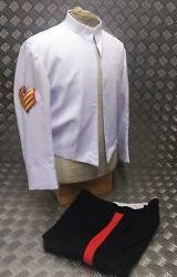 Ex British Army Issued Agc Ssgt Officers Tropical Summer Mess Dress 2 Pc Suit