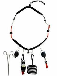 Vixyn Fly Fishing Tools And Lanyard - 7 In 1 Fly Fishing Accessories - Neck L...