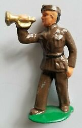Metal Cast Co. 33a Rare Scarce Toy Lead Soldier Trumpeter Barclay Manoil