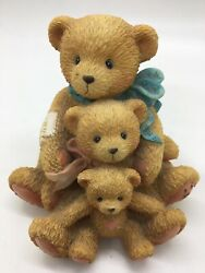 """Cherished Teddies Theodore Samantha and Tyler """"Friends Come In All Sizes"""" $3.00"""