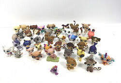 Little Pet Shop Toys Lot Of 45 Lps And Hasbro Various Mixed Lot