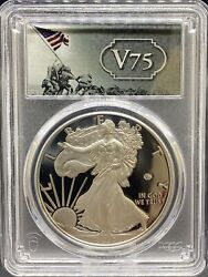 2020-w V75 Wwii Privy Mark Silver Eagle Pr70dcam Pcgs First Strike Pa40652282