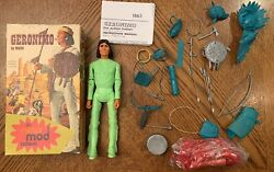 Vintage Marx Johnny West Canadian Geronimo Fort Apache Fighters Mod Box