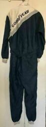 Vtg Simpson Rick Neale Goodyear Racing Coveralls Jumpsuit Nascar Size 4/92