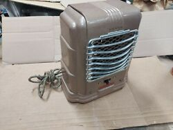 Vintage Arvin Space Heater Art Deco Model 213 Works Great 1940and039s