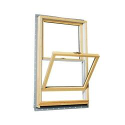 Andersen-33.625 In. W. Double Hung Window-white-security Lock-nail Fin Frame