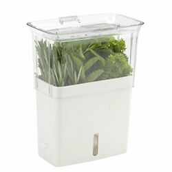 Cole And Mason Fresh Herb Keeper Container Clear