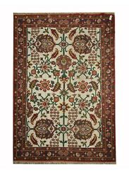 Antique Rugs Handwoven Traditional Oriental Floral Wool Carpet 250x328cm
