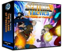 Greater Than Games Boardgame Sentinel Tactics - The Flame Of Freedom Sw