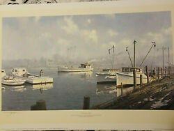 John M Barber Print Returning Home Limited Edition Numbered Free Shipping