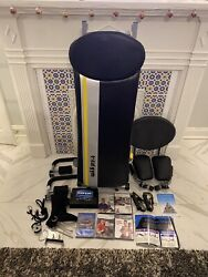 Chuck Norris Total Gym Fit With 5. Dvds, Ab Crunch, Wing Bars, Training Deck