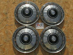 1971-74 Rover P6, 2000, 2200, 3500, Vitesse 14 Wheel Covers, Hubcaps, Set Of 4