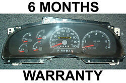 1997-98 Ford F150 F250 Expedition Instrument Cluster Tach - Low Miles Under 135k