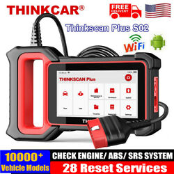 Thinkscan Plus S2 Abs Srs Obd2 Scanner Code Reader Tpms Immo Dpf Diagnostic Tool