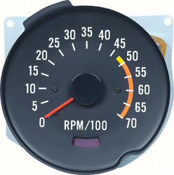Oer Reproduction 5000 Red Line Tachometer 1970-1978 Chevrolet Camaro