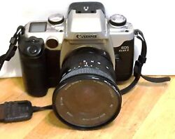 Vivitar Series 1 19-35mm Auto Focus Zoom Lens Canon See Notes W Camera Body