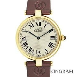 Must Vendome W1010395 150th Anniversary Watch From Japan