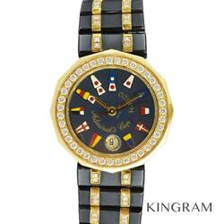 Corum 39.912.33v152 Admiral's Cup Machine Inspected Watch From Japan