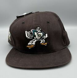 Vintage Mighty Ducks New Era Nhl Snapback Hat 1 Of 1000 Limited Edition