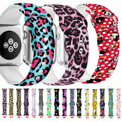 30pcs Silicone Sport Band Belt For Iwatch Series Se 6 5 4 3 Wrist Strap 38-40mm