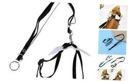 Reptile Leash for Bearded DragonsBearded Dragon Harness with Black