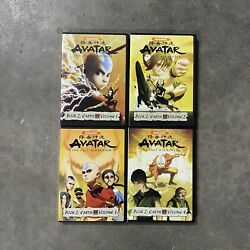 Avatar The Last Airbender Book 2 Earth Volumes 1-4