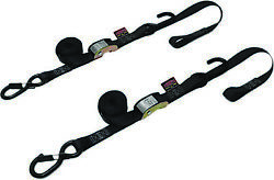 Powertye 1 1/2in. Cam-buckle With Safety Latch Hooks And Soft-tye 29622-s