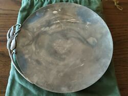 Reed And Barton Sterling Silver Plate X523 With Brock And Company Jewelers Bag