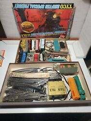 Tyco Shifter Special Freight Train Set 2 Boxes Of Trains And Equipment See Pics.