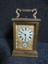 Antique French Grand Sonnerie Carriage Clock Repeater