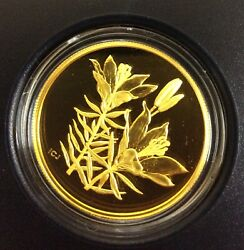 2005 350 Provincial Flora The Western Red Lily Saskatchewan Pure Gold