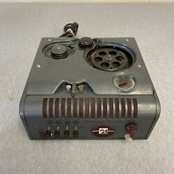 Webster Chicago Wire Recorder W/ Electronic Memory Model 18-1 Read