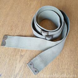British Ww1 1908 And03908 Pattern Webbing Straps Pair Of Braces Blancoand039d 1917 Dated