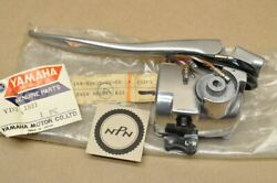 Nos Yamaha 1962-64 Yd3 1963 Ydt1 Left Handlebar Turn Signal Switch And Lever Assy
