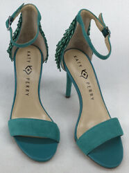 Katy Perry The Kate Suede Teal Womans 5.5M US 35.5 EU N837 $29.99