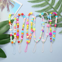 Chain Mobile Phone Strap Lanyard Cell Phone Case Hanging Cord Soft Pottery Rope