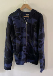 Zadig And Voltaire Camo Luxury Brand Clash C Camou Wool And Cashmere Hoodie Sweater