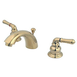 Kingston Brass Magellan Two Handle 4 To 8 Mini Widespread Lavatory Faucet With