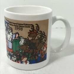 Allied Systems Car Hauler Carrier Truck Christmas Mugs 1994 1996 1998 Set Of 3