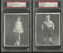 1929 Kashin Motion Picture Stars Psa Registry- Quality Set Of 24 - 1 Of Only 1