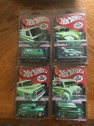 Hot Wheels 2012 K-mart Mail In Collectors Edition 4 Card Set Ships In Protectors