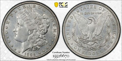 1894 1 Morgan Dollar Pcgs Au 53 About Uncirculated To Mint State Key Date To...